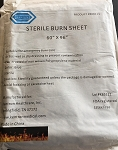 Sterile Kenorex Burn Sheet, 60