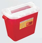 Kentex Non- Stackable Sharp Container