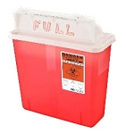 Kentex Non Stackable 5.0 Liter Sharp Container