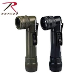 Black Army Style C-Cell Flashlight