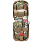 Tactical Operator Response Kit - TORK - Advanced Life Support - Combat Gauze - Coyote
