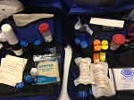KENTRON ADVANCED FIRST AID KIT BLUE BAG