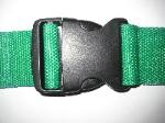 5 Feet Metal Speed Clip Polypropylene Backboard Straps with Plastic Side Release Buckle