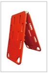 Folding Plastic Stretcher