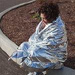 Survival Rescue Blankets 12pk