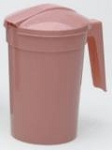 Water Pitcher with Handle and Lid